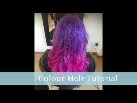 How To Diy Purple Pink Dip Dye Hair Tutorial I Soo