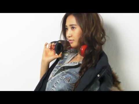 Yuri's photoshoot for HIGH CUT vol.63
