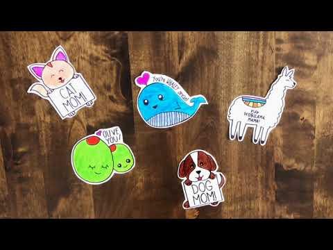 DIY Lapel Pins for Mom