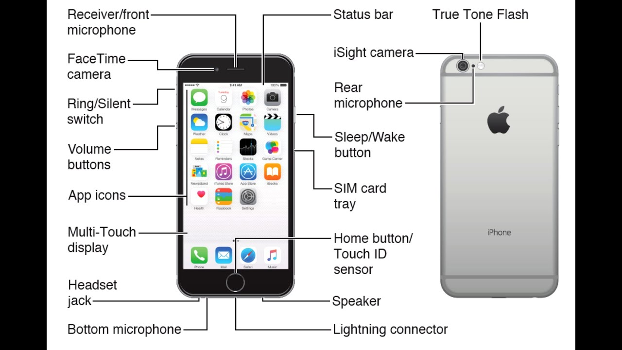 Iphone User Guide And Manual Instructions For All Models Connector Wiring Diagram Related Image