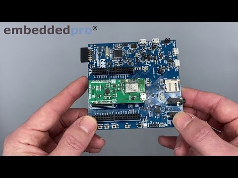 17 WiFi On LPC55S69-EVK With Mikroe WiFi 10 Click Board