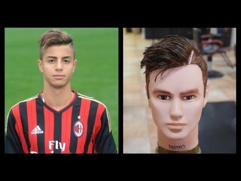 Hachim Mastour Mens Haircut Tutorial TheSalonGuy YouTube - Sergio aguero hairstyle tutorial