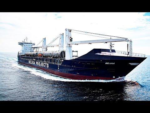 LE BELUGA BREMEN : Le Super Transporteur Le Plus Puissant Au Monde  ( Documentaire )