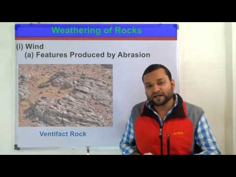 Weathering (अपक्षय) and its Various Factors in Hindi