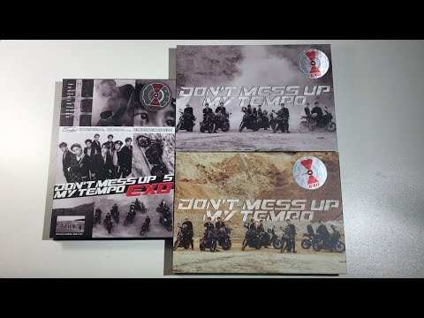 ♡Unboxing EXO 엑소 5th Studio Album Don't Mess Up My Tempo (Allegro, Moderato & Andante Ver.)♡