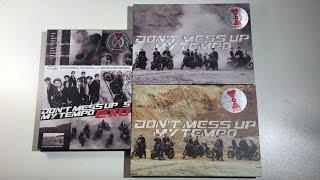 Unboxing EXO 엑소 5th Studio Album Don 39 t Mess Up My Tempo Allegro Moderato Andante Ver