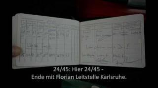 Letzter Funkspruch - LF 16-TS, Florian Karlsruhe 24/45