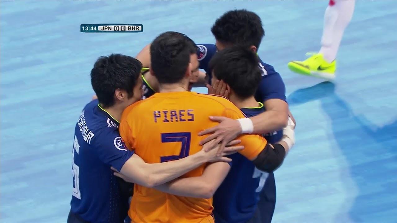 Video: Futsal Nhật Bản vs Futsal Bahrain