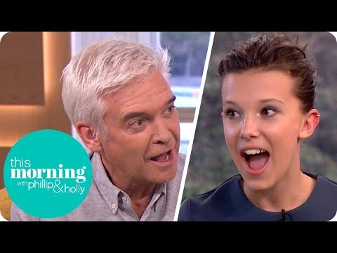 Phillip Makes 'Stranger Things' Star Millie Bobby Brown Swear! | This Morning