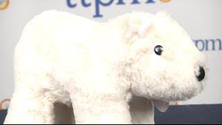 Polar Bear Stuffed Animal from Manhattan Toy