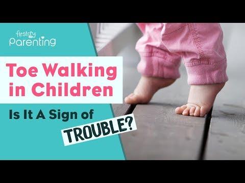 Toe Walking in Children Is It a Sign of Trouble?