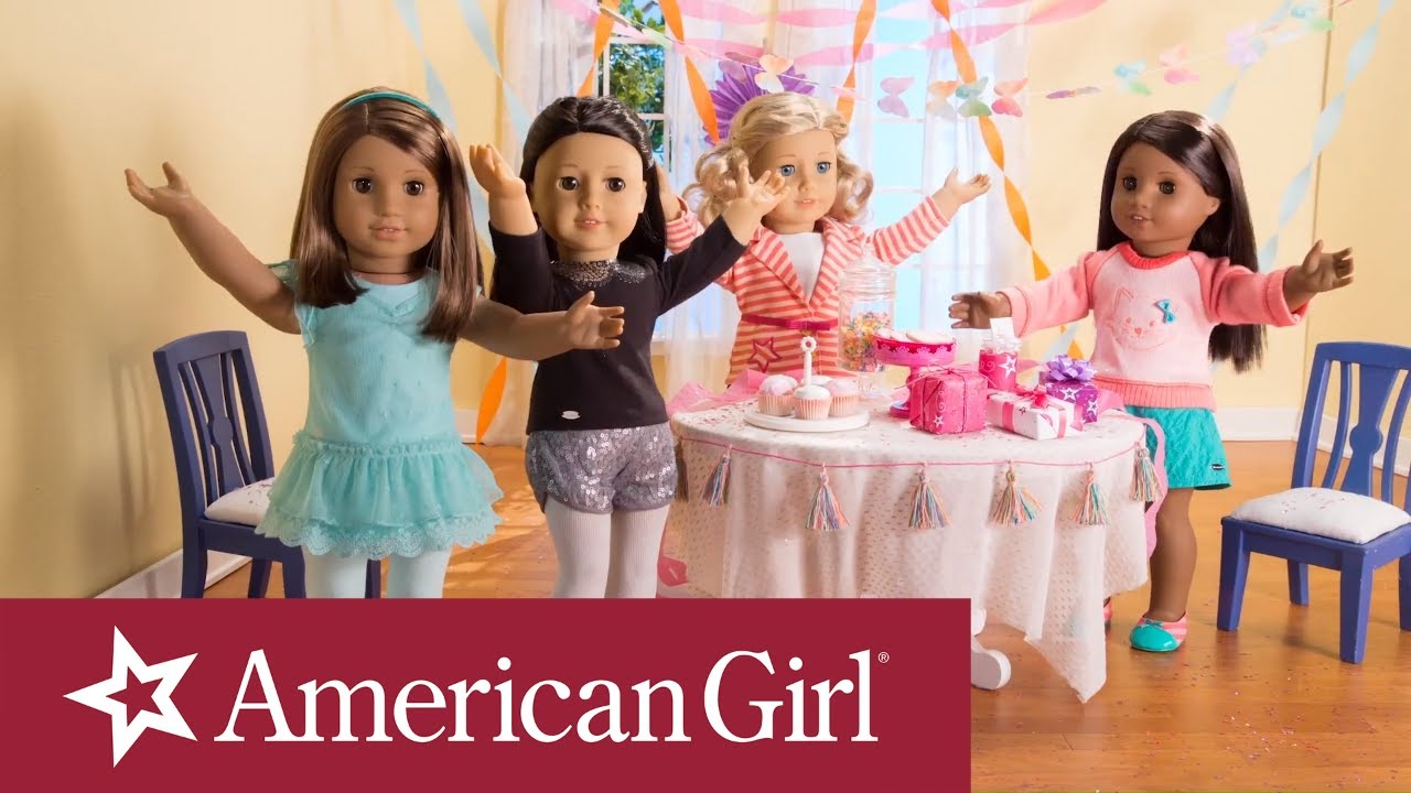 happy birthday from american girl american girl youtube