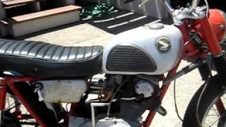 1963 Honda CL72 & 1966 CB77