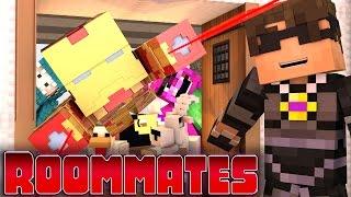 Minecraft ROOMMATES! - 'Iron Man Madness' #1(Minecraft Roleplay)