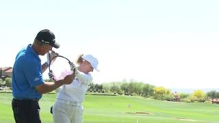 Mike Malaska Live Lesson -- Downswing Theory with Monica