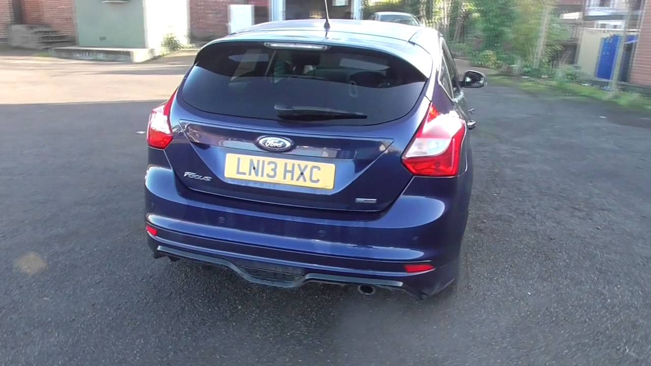 ford focus 1.6 182 ecoboost zetec s 5dr u10595 - youtube