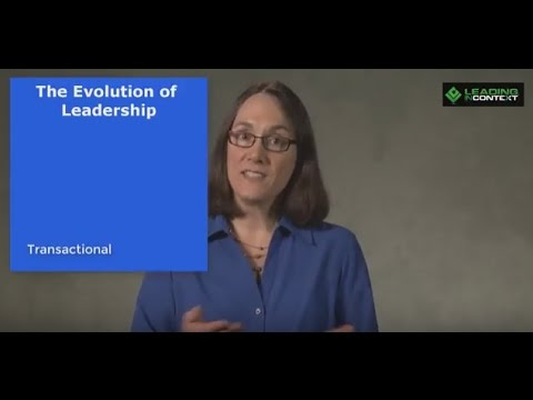 The Evolving Purpose of Leadership