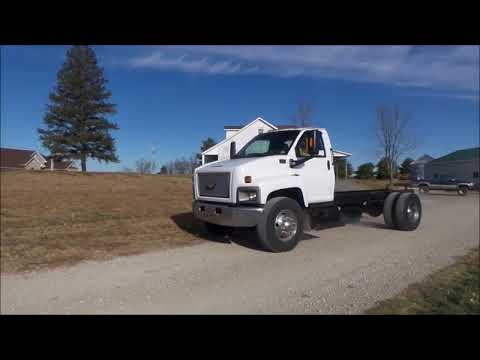 2007 Chevrolet C7500 truck cab and chassis for sale | no-reserve Internet auction December 27, 2017