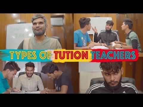 Types of Tuition Teachers ||Raman Sharma||