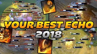 Dota 2 Earthshaker Moments [BEST ECHO SLAMS OF 2018]