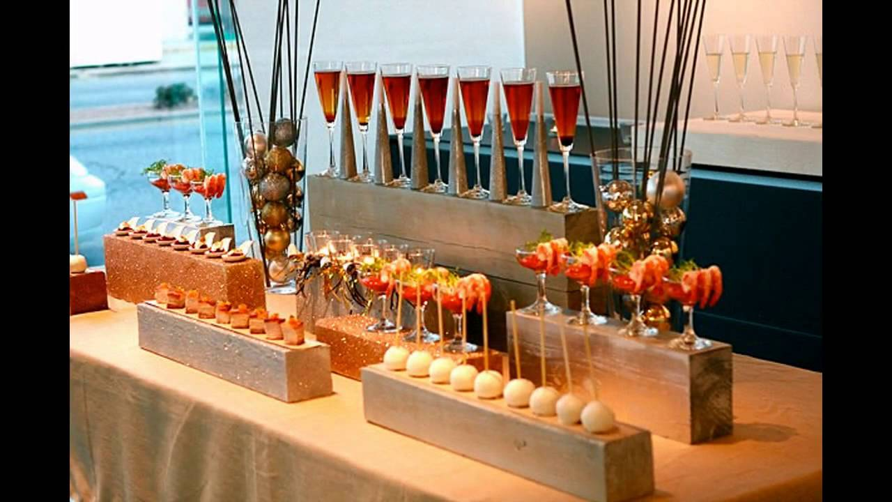 Elegant Christmas Party Themes Part - 20: Elegant Party Themes Decorations At Home Ideas - YouTube