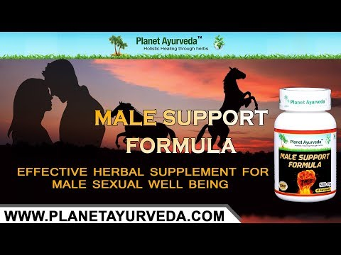 Male Support Formula - Effective Herbal Supplement For Male Sexual Well Being