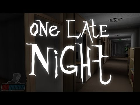 Lets Play One Late Night  Indie Horror Game Walkthrough