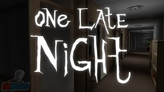 Let's Play One Late Night | Indie Horror Game Walkthrough