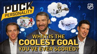 What is the coolest goal you've ever scored? | Puck Personality | NHL
