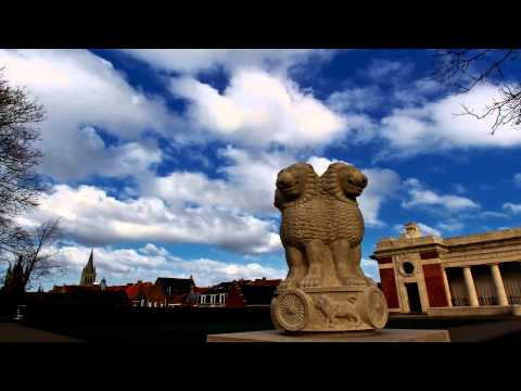 Places of Flanders Fields (2) : Yser to Plugstreet timelapse