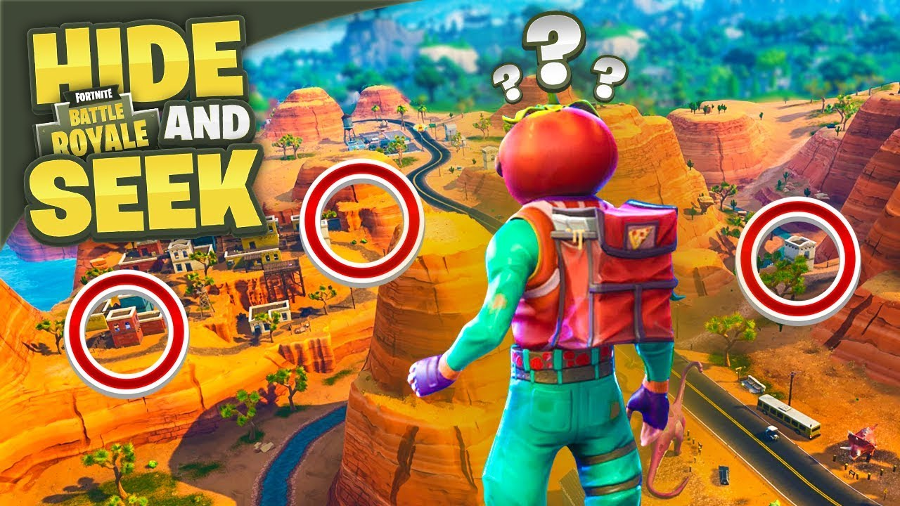 HARDEST SEEKING LOCATIONS in Fortnite Battle Royale!