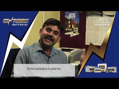Amit Das, owner of Das Auto Electrics, has to say about Centurion Batteries.