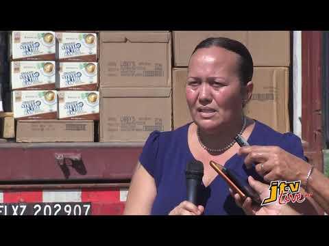 JTV NEWS UPDATE    DDM DIRECTOR SHARLEEN DABREO TALKS ABOUT RELIEF SUPPLIES DISTRIBUTION