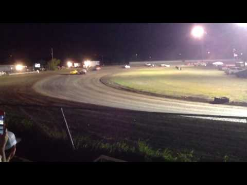 Factory Stock Feature part 3 Superbowl Speedway 4-8-17