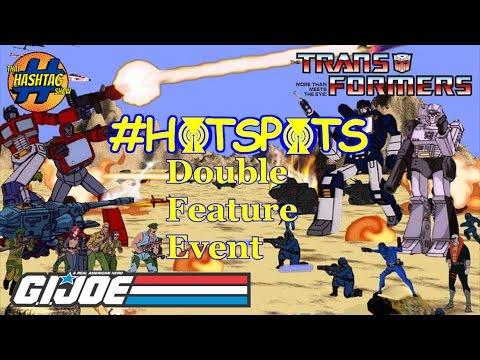 GI Joe & Transformers Voice Actor Interviews - Hashtag Hotspots