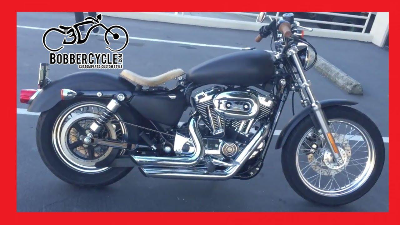 Harley Davidson Sportster 1200 Custom Bobbercycle Bobber