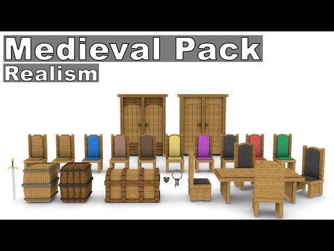 Full download cinema 4d minecraft furniture model pack 2 hd - Minecraft dekoration ...