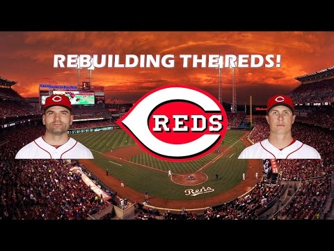 REBUILDING THE CINCINNATI REDS! Part 1 - MLB 16 THE SHOW!
