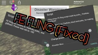 Download Mobile Android Roblox Exploit Hacks Fe Fling Fixed