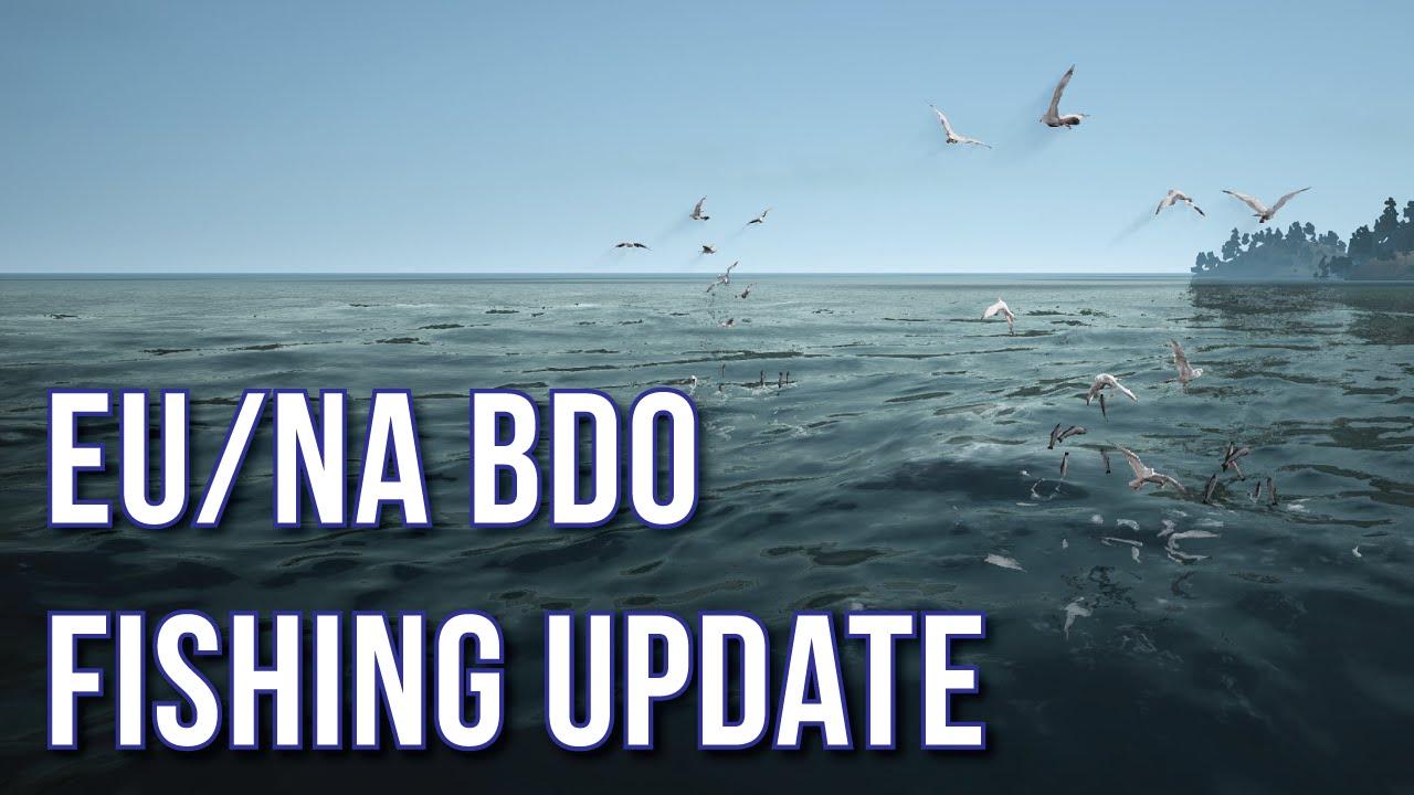 Black Desert Online Fishing Update : Seagulls, Moving Hotspots, Harpooning,  Coelacanth Spots & More!