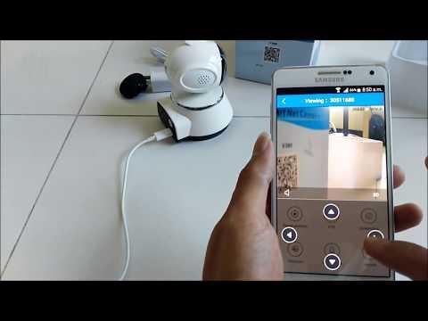 How to setup V380 Wifi Smart Net Camera