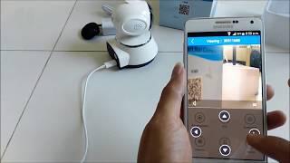 كيفية إعداد V380 واي فاي الذكية صافي الكاميرا