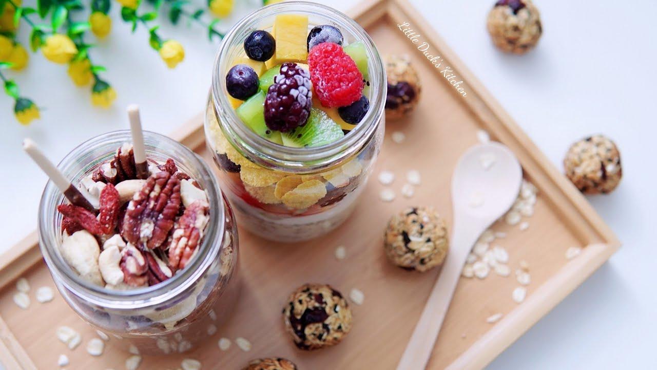 3 Type Healthy Energy Breakfast (Slimming) 一次过教您3款活力营养健康早餐,要减脂瘦身的看过来哟  #littleduckkitchen