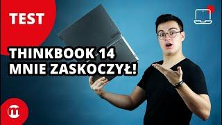 Biznesowy laptop, który zaskakuje! | Test Lenovo ThinkBook 14