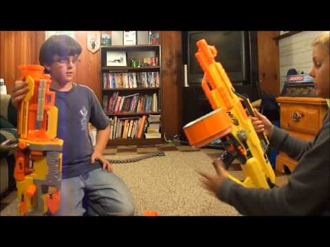 Robotic Nerf Gun Turret Of Death Doovi