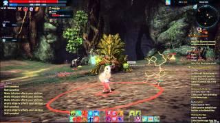 TERA - Basilisk solo with mystic | Gameplay |