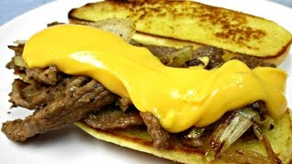 How to Make a Philly Cheese Steak - PoorMansGourmet