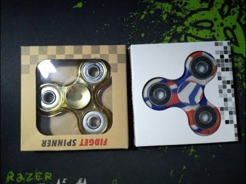UNBOXING: Най-Зарибяващата Играчка - Fidget Spinner