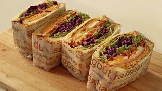 Making Cafe Ham Cheese Sandwic…