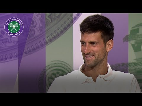 Novak Djokovic Wimbledon 2017 second round press conference